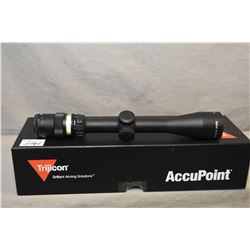 Trijicon Accupoint 3 - 9 x 40 Scope - Green Dot/ Plex  Ser # Y09244 [ appears as new in orig box w/
