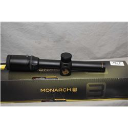 Nikon Monarch 3 Scope 1 - 4 x 20  # 4 Reticle / New  Ser # 0002584 [ appears as new in orig box, w/b
