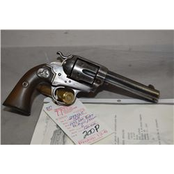 Prohib 12 - 6 Colt Model 1894 Bisley Single Action Army .32 - 20 Win / .32 WCF Cal 6 Shot Revolver w