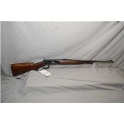 "Winchester Model 64 .30 WCF Cal Lever Action Rifle w/ 24"" round bbl 2/3 mag [ fading blue finish, mo"