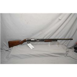"Winchester Model 1912 .12 Ga Pump Action Shotgun w/ 30"" bbl full choke [ fading blue finish more in"