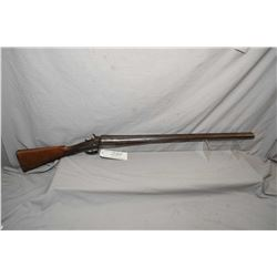 "W.McCall ( Dumfries Scotland ) Model Farmer's Gun .12 Ga Side By Side Hammer Shotgun w/ 30"" bbls [ f"