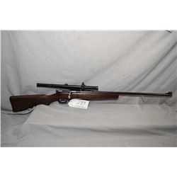 "Savage Model 3B .22 LR Cal Single Shot Bolt Action Rifle w/ 26"" bbl [ blued finish, barrel sights, a"
