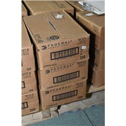 Three case lots Fed .12 Ga Shotshells Three case Lots ; 10 Boxes ( 25 rnds per ) Federal .12 Ga 2 3/
