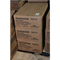 "Three case lots of shot shells Three case lots: 10 boxes each of Winchester .12  3/4"" Super target s"