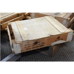 Wood Crate 1000 rnds .45 ACP Ammo Wooden Crate : 1000 Rnds .45 ACP Cal Ammo