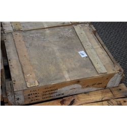 Wood Crate 1000 Rnds .45 ACP Wooden Crate : 1000 Rnds .45 ACP Cal Ammo