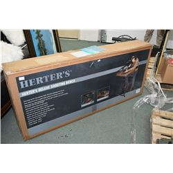 New in box Herter's Deluxe shooting bench New in box Herter's Deluxe shooting bench