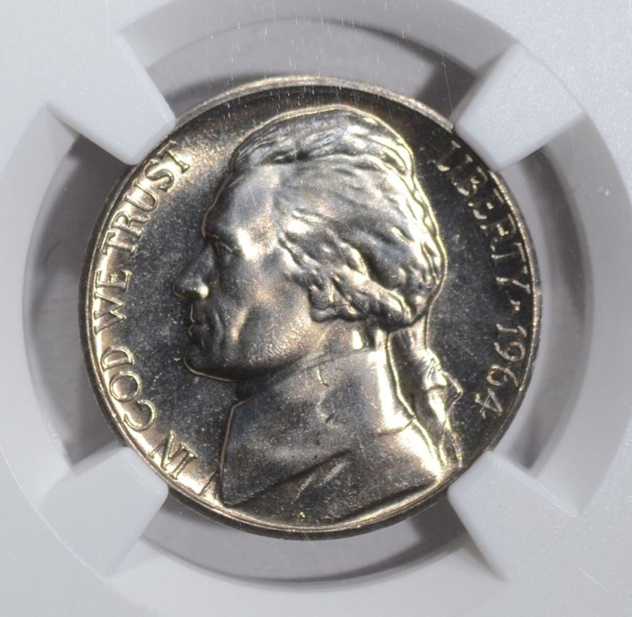 1964 D JEFFERSON NICKEL NGC MS 66 STAR