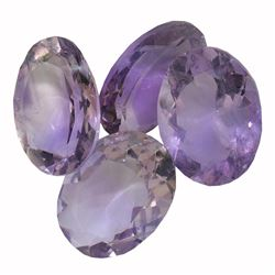 30.78 ctw Oval Mixed Amethyst Parcel