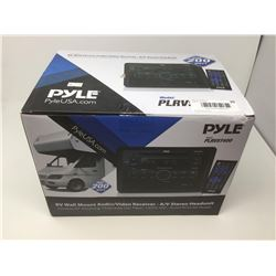 Pyle RV Wall Mount Audio/Video Receiver