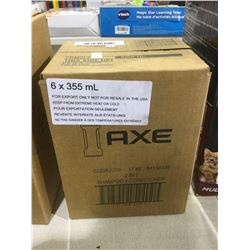 Case of Axe 2 in 1 Shampoo  Conditioner (6 x 355mL)