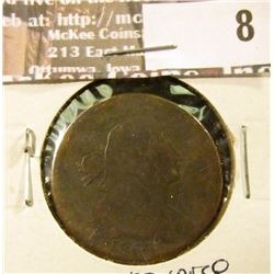 1803 small date Large Cent, AG, reverse scratches.