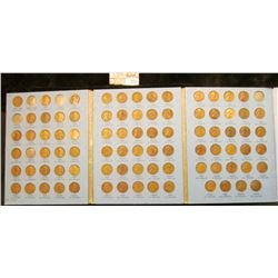 Partial set of 84 different Lincoln Cents 1909-40 grades up to AU. Missing only the 1909 S, 09 S VDB