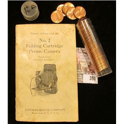 """Small booklet """"Picture taking with the No. 2 Folding Cartridge Premo Camera Single Lens (Meniscus Ac"""