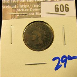 1876 Better Date Indian Head Cent