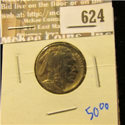 1917-D Semi Key Date Buffalo Nickel
