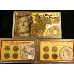 Coins Of The American Frontier Set With 4 V Nickels, Coins Of The American Frontier Buffalo Nickel C