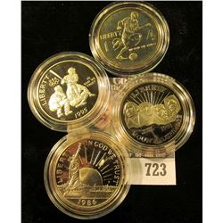 Commemorative Half Dollar Lot Includes 2008 Proof Half Dollar With Baby Eagles, Proof Mt Rushmore Ha