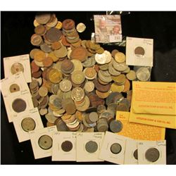 Foreign Coins Dating Back To The 1800's Including Some Silver