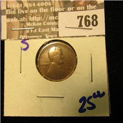 1910-S Better Date Wheat Cent