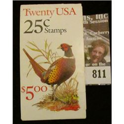 Pack of 20 unopened .25c Pheasant Stamps.