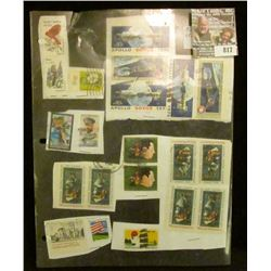 (52) Miscellaneous Stamps. All are U.S.