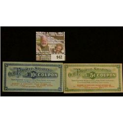 """942 _ Five & Ten Cent """"Our Profit-Sharing Coupons…Ranney & Scellars Cigar Stores Co….Cedar Rapids, I"""