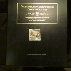 """1150 _ Postal Commemorative Society """"Declaration of Independence Commemoratives Mint-condition stamp"""