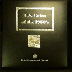 """1151 _ Postal Commemorative Society """"U.S. Coins of the 1950's Every Denomination issued for circulat"""