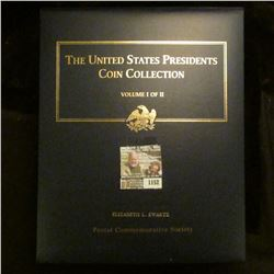 """1152 _ Postal Commemorative Society """"The United States Presidents Coin Collection Volume I of II"""" in"""