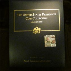 """1155 _ Postal Commemorative Society """"The United States Presidents Coin Collection Volume II of II"""" i"""