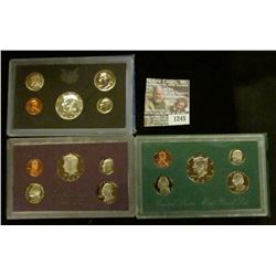 1245 _ 1970 S, 84 S, & 97 S Proof Sets. All original as issued. CDN bid is $19.20