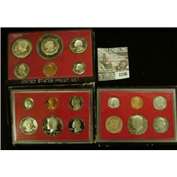 1246 _ 1979 S, 81 S & 82 S U.S. Proof Sets. All original as issued. Coin Dealer Newsletter Bid Price