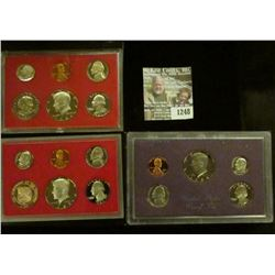 1248 _ 1981 S, 82 S & 87 S U.S. Proof Sets. All original as issued. Coin Dealer Newsletter Bid Price