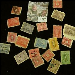 1277 _ Pack of (20) Old Documentary Stamps, several varieties.