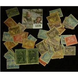 1279 _ Pack of (50) various Documentary Stamps over 100 Years Old.