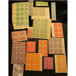 1339 _ Large group of Old mostly Foreign Stamps, both mint and used.