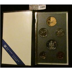 1428 _ 1989 Royal Canada Mint Specimen Set in original case of issue.