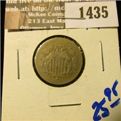 1435 _ 1874 Shield Nickel