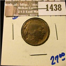 1438 _ 1913-D Type 1 Buffalo Nickel Will Full Horn and Rotated Reverse