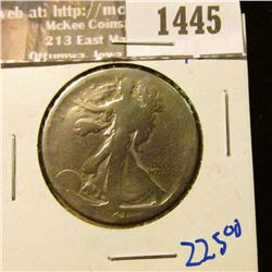 1445 _ Key Date 1921 P Walking Liberty Half Dollar