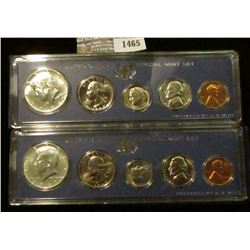 1465 _ (2) 1967 Special Mint Sets.  The Half Dollars Are 40% Silver