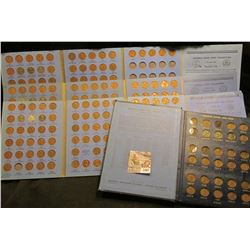 1467 _ (4) Mostly Complete Number 2 Lincoln Coin Books With Coins Starting With 1941.  In The Whitma