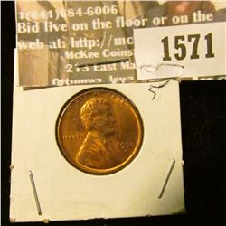 1571 _ 1950 D U.S. Lincoln Cent, Brilliant Uncirculated.