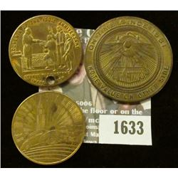 1633 _ 1924-1939 15 Years of Progress, Be Modern Buy Chrysler Bronze Medal, Cochran & McClure Aniver