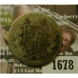 1678 _ 1885 Great Britain Silver HalfCrown. AG.