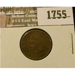 1755 _ 1886 Indian Head Cent. VG-8.