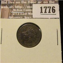 1776 _ 1881 Indian Head Cent. VF-20
