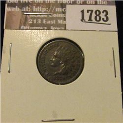 1783 _ 1879 Indian Head Cent. VF-20.